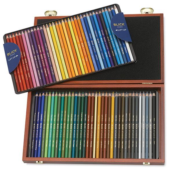 crayons de couleur gras professionnel